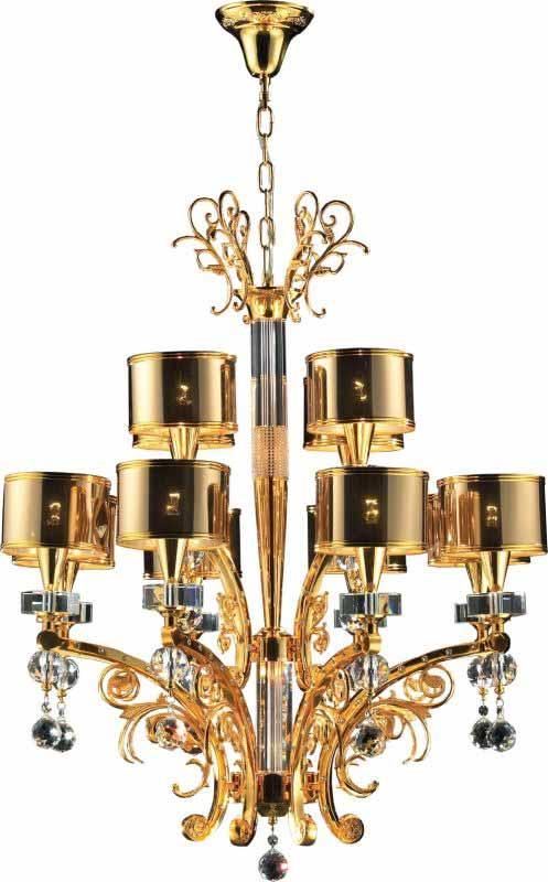 N-Light Потолочная люстра подвесная 3086-8+4G