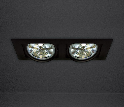 Потолочный светильник Graffit 2.AR 541.13 SDM Luceвстраиваемые<br>AR-111 12V, max2x100W, 192x352x140mm, монтажный размер 322x162mm, (черный алюминий). Бренд - SDM Luce.<br><br>популярные производители: SDM Luce