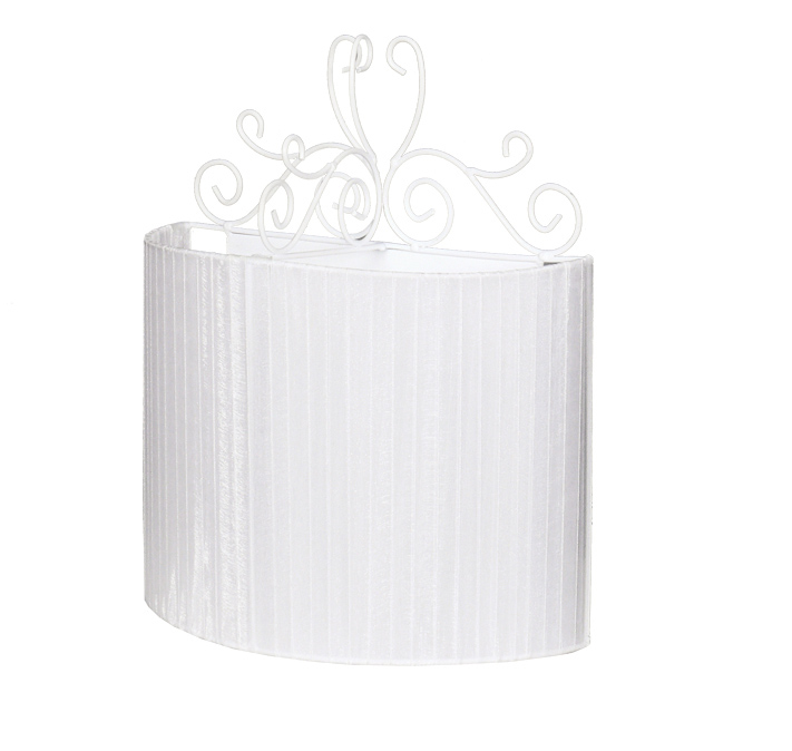Бра 10025-2BНастенные и бра<br>настенный светильник. Бренд - Аврора. тип лампы - накаливания или LED. количество ламп - 2. тип цоколя - E14. мощность лампы - 60. цвет арматуры - белый. цвет плафона - белый. материал арматуры - металл. материал плафона - ткань. высота - 310. ширина/диаметр - 250. длина - 140. степень защиты ip - 20. форма - полукруг. стиль - классический. страна происхождения - Россия. коллекция - Ажур. напряжение - 220.<br><br>Бренд: Аврора<br>тип лампы: накаливания или LED<br>количество ламп: 2<br>тип цоколя: E14<br>мощность лампы: 60<br>цвет арматуры: белый<br>цвет плафона: белый<br>материал арматуры: металл<br>материал плафона: ткань<br>высота: 310<br>ширина/диаметр: 250<br>длина: 140<br>степень защиты ip: 20<br>форма: полукруг<br>стиль: классический<br>страна происхождения: Россия<br>коллекция: Ажур<br>напряжение: 220