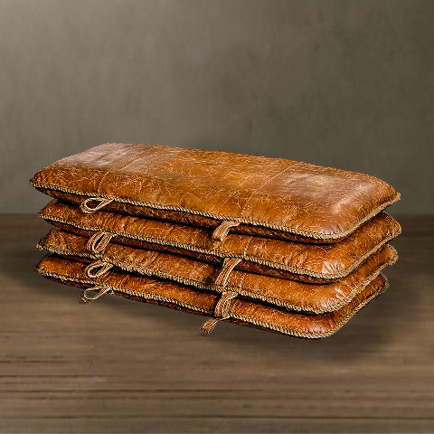 Набор пуфов ROOMERSПуфы<br>. Бренд - ROOMERS. ширина/диаметр - 730. материал - Кожа. цвет - коричневый.<br><br>популярные производители: ROOMERS<br>ширина/диаметр: 730<br>материал: Кожа<br>цвет: коричневый