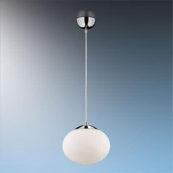 Подвесной  потолочный светильник 2045/1 Odeon Lightподвесные<br>2045/1 ODL11 309 хром Подвес  E27 60W 220V ROLET. Бренд - Odeon Light. материал плафона - стекло. цвет плафона - белый. тип цоколя - E27. тип лампы - галогеновая или LED. ширина/диаметр - 250. мощность - 60. количество ламп - 1.<br><br>популярные производители: Odeon Light<br>материал плафона: стекло<br>цвет плафона: белый<br>тип цоколя: E27<br>тип лампы: галогеновая или LED<br>ширина/диаметр: 250<br>максимальная мощность лампочки: 60<br>количество лампочек: 1