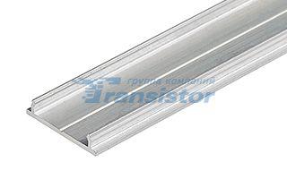 Плоский алюминиевый профиль для светодиодных лент до 13мм, также можно использовать для соединения д Arlight