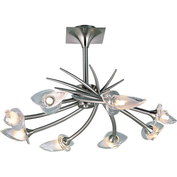 Потолочная люстра на штанге PX-0653/8A satin chrome N-Lightна штанге<br>PX-0653/8A satin chrome. Бренд - N-Light. материал плафона - стекло. цвет плафона - прозрачный. тип цоколя - G9. тип лампы - галогеновая или LED. ширина/диаметр - 690. мощность - 40. количество ламп - 8.<br><br>популярные производители: N-Light<br>материал плафона: стекло<br>цвет плафона: прозрачный<br>тип цоколя: G9<br>тип лампы: галогеновая или LED<br>ширина/диаметр: 690<br>максимальная мощность лампочки: 40<br>количество лампочек: 8