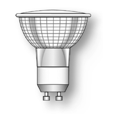 Лампа HP16 (4200K) ALU 50W GU10 230V Duralamp от Дивайн Лайт