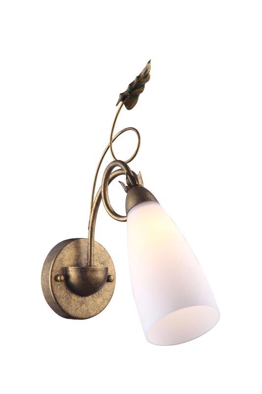 Бра A8935AP-1GA ARTE LampНастенные и бра<br>A8935AP-1GA. Бренд - ARTE Lamp. материал плафона - стекло. цвет плафона - белый. тип цоколя - E14. тип лампы - накаливания или LED. ширина/диаметр - 120. мощность - 40. количество ламп - 1.<br><br>популярные производители: ARTE Lamp<br>материал плафона: стекло<br>цвет плафона: белый<br>тип цоколя: E14<br>тип лампы: накаливания или LED<br>ширина/диаметр: 120<br>максимальная мощность лампочки: 40<br>количество лампочек: 1