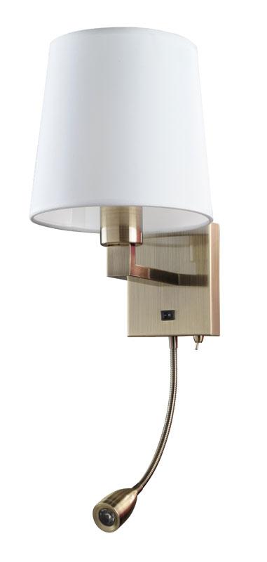 Бра A9246AP-2AB ARTE LampНастенные и бра<br>A9246AP-2AB. Бренд - ARTE Lamp. материал плафона - ткань. цвет плафона - белый. тип цоколя - E27. тип лампы - накаливания или LED. ширина/диаметр - 230. мощность - 40. количество ламп - 1.<br><br>популярные производители: ARTE Lamp<br>материал плафона: ткань<br>цвет плафона: белый<br>тип цоколя: E27<br>тип лампы: накаливания или LED<br>ширина/диаметр: 230<br>максимальная мощность лампочки: 40<br>количество лампочек: 1