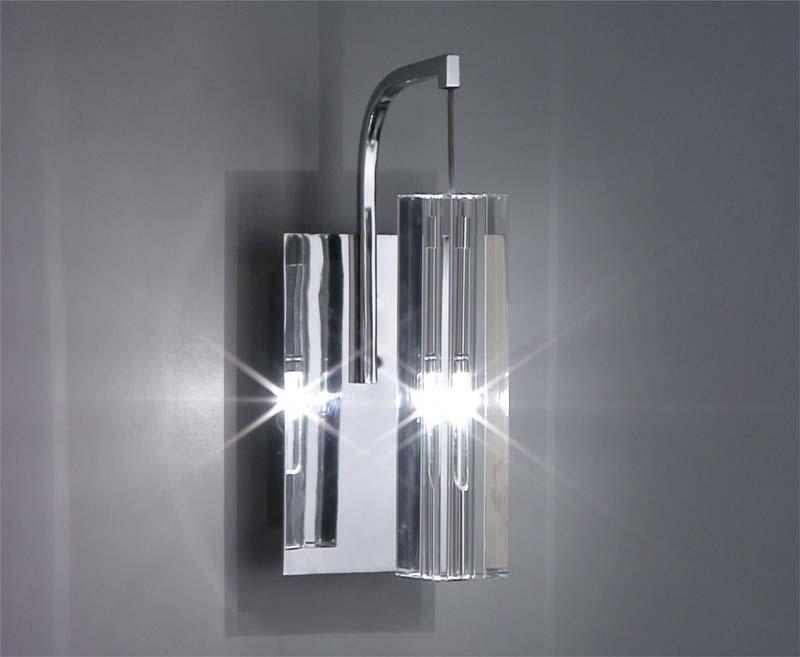 Бра SL451.101.01 ST-LuceНастенные и бра<br>Бра. Бренд - ST-Luce. материал плафона - хрусталь. цвет плафона - прозрачный. тип цоколя - G4. тип лампы - галогеновая или LED. ширина/диаметр - 80. мощность - 20. количество ламп - 1.<br><br>популярные производители: ST-Luce<br>материал плафона: хрусталь<br>цвет плафона: прозрачный<br>тип цоколя: G4<br>тип лампы: галогеновая или LED<br>ширина/диаметр: 80<br>максимальная мощность лампочки: 20<br>количество лампочек: 1