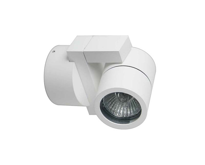 спот DL18434/11WW-White DonoluxСпоты<br>Donolux Светильник накладной, MR16, макс. 35Вт GU10, IP54, D90х72х100 мм, белый, без лампы. Бренд - Donolux. материал плафона - металл. цвет плафона - белый. тип лампы - LED. ширина/диаметр - 90. мощность - 35. количество ламп - 1.<br><br>популярные производители: Donolux<br>материал плафона: металл<br>цвет плафона: белый<br>тип лампы: LED<br>ширина/диаметр: 90<br>максимальная мощность лампочки: 35<br>количество лампочек: 1