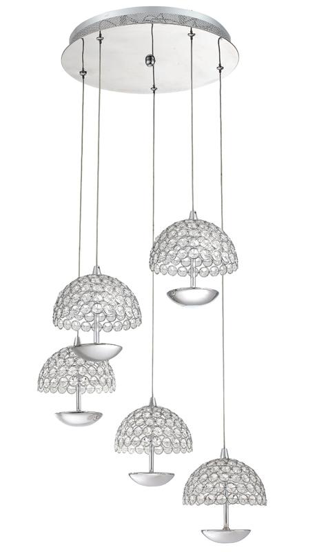 Потолочная люстра подвесная SL781.103.05 ST-Luceподвесные<br>SL781.103.05. Бренд - ST-Luce. материал плафона - хрусталь. цвет плафона - прозрачный. тип лампы - LED. ширина/диаметр - 450. мощность - 5. количество ламп - 5.<br><br>популярные производители: ST-Luce<br>материал плафона: хрусталь<br>цвет плафона: прозрачный<br>тип лампы: LED<br>ширина/диаметр: 450<br>максимальная мощность лампочки: 5<br>количество лампочек: 5