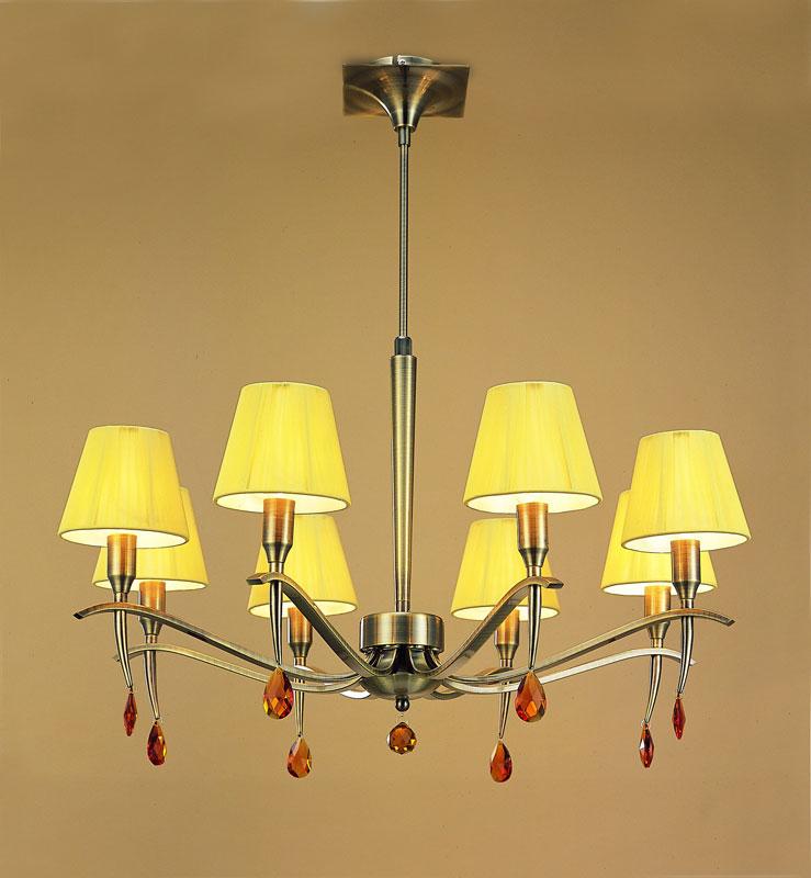 Потолочная люстра на штанге 0351 Mantraна штанге<br>PENDANT 8L  (Adjustable). Бренд - Mantra. материал плафона - ткань. цвет плафона - желтый. тип цоколя - E14. тип лампы - КЛЛ. ширина/диаметр - 750. мощность - 40. количество ламп - 8.<br><br>популярные производители: Mantra<br>материал плафона: ткань<br>цвет плафона: желтый<br>тип цоколя: E14<br>тип лампы: КЛЛ<br>ширина/диаметр: 750<br>максимальная мощность лампочки: 40<br>количество лампочек: 8