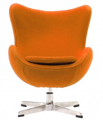 Детское кресло Egg Chair Оранжевый Кашемир DG-HOME от Дивайн Лайт