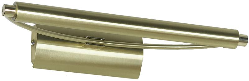 Светильник для картин или зеркал LSL-6201-01 LussoleДля картин и зеркал<br>LSL-6201-01. Бренд - Lussole. материал плафона - металл. цвет плафона - золотой. тип цоколя - G5. тип лампы - КЛЛ. ширина/диаметр - 370. мощность - 8. количество ламп - 1.<br><br>популярные производители: Lussole<br>материал плафона: металл<br>цвет плафона: золотой<br>тип цоколя: G5<br>тип лампы: КЛЛ<br>ширина/диаметр: 370<br>максимальная мощность лампочки: 8<br>количество лампочек: 1