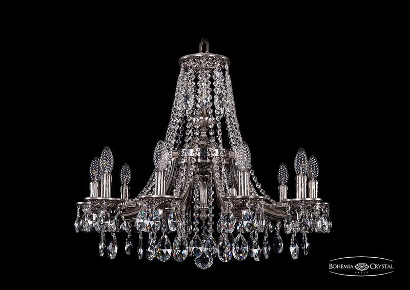 Люстра подвесная 1771/10/220/A/NB Bohemia Ivele Crystal