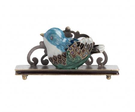 Держатель для визиток Little Bird Голубой DG-HOME от Дивайн Лайт