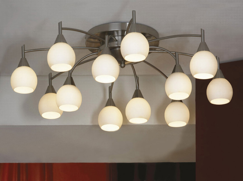 Потолочная люстра накладная LSC-2607-12 Lussoleнакладные<br>LSC-2607-12. Бренд - Lussole. материал плафона - стекло. цвет плафона - белый. тип цоколя - E14. тип лампы - накаливания или LED. ширина/диаметр - 920. мощность - 40. количество ламп - 12.<br><br>популярные производители: Lussole<br>материал плафона: стекло<br>цвет плафона: белый<br>тип цоколя: E14<br>тип лампы: накаливания или LED<br>ширина/диаметр: 920<br>максимальная мощность лампочки: 40<br>количество лампочек: 12
