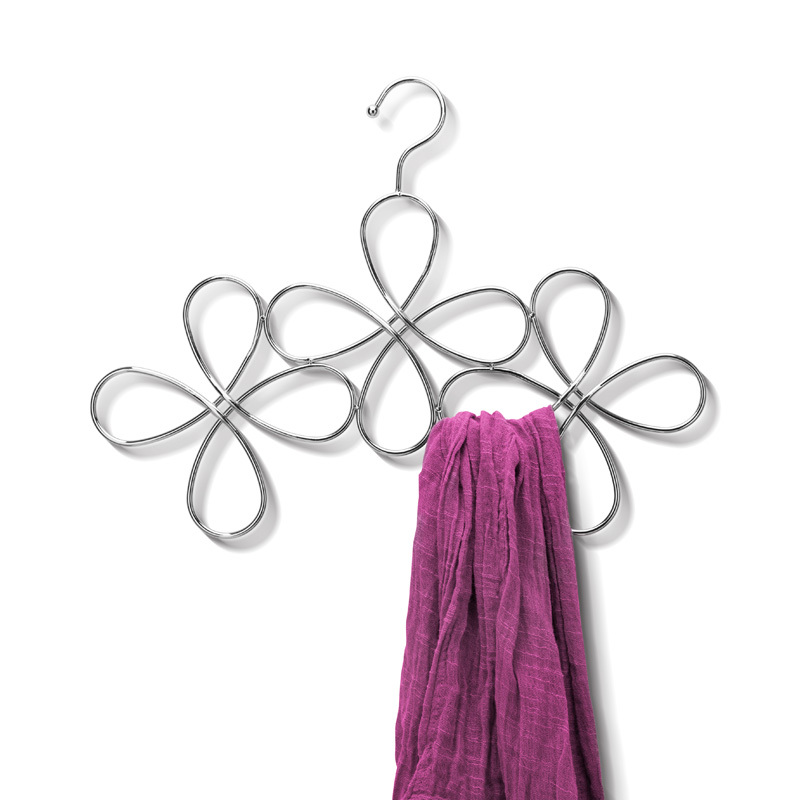 Вешалка для шарфов fleur Fine DesignВешалки и крючки<br>. Бренд - Fine Design. материал - Металл.<br><br>популярные производители: Fine Design<br>материал: Металл