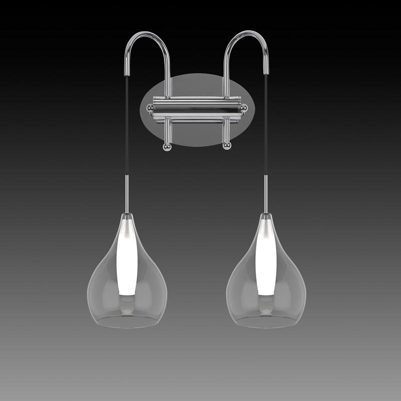 Бра 803831 LightstarНастенные и бра<br>803831 (MВ2098М-2C) Бра PENTOLA 2х25W G9 ХРОМ. Бренд - Lightstar. материал плафона - стекло. цвет плафона - прозрачный. тип цоколя - E14. тип лампы - накаливания или LED. ширина/диаметр - 340. мощность - 40. количество ламп - 2.<br><br>популярные производители: Lightstar<br>материал плафона: стекло<br>цвет плафона: прозрачный<br>тип цоколя: E14<br>тип лампы: накаливания или LED<br>ширина/диаметр: 340<br>максимальная мощность лампочки: 40<br>количество лампочек: 2