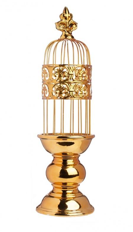 Подсвечник Сharm Tall DG-HOMEСвечи, подсвечники, аромалампы<br>. Бренд - DG-HOME. ширина/диаметр - 160. материал - Металл. цвет - Золото.<br><br>популярные производители: DG-HOME<br>ширина/диаметр: 160<br>материал: Металл<br>цвет: Золото
