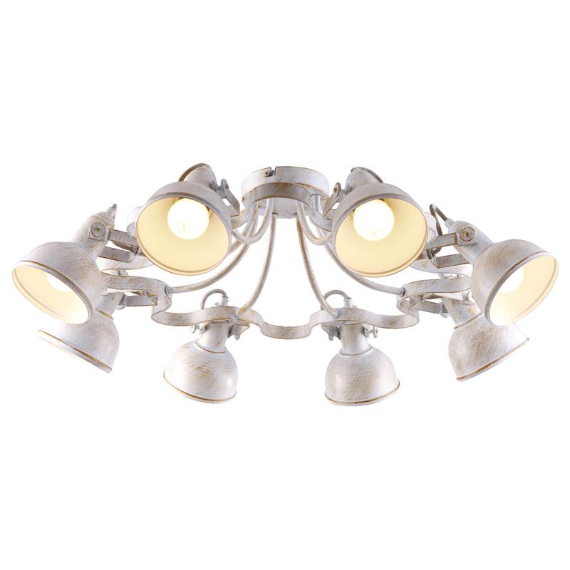 Потолочная люстра накладная A5216PL-8WG ARTE Lampнакладные<br>A5216PL-8WG. Бренд - ARTE Lamp. материал плафона - металл. цвет плафона - белый. тип цоколя - E14. тип лампы - накаливания или LED. ширина/диаметр - 730. мощность - 40. количество ламп - 8.<br><br>популярные производители: ARTE Lamp<br>материал плафона: металл<br>цвет плафона: белый<br>тип цоколя: E14<br>тип лампы: накаливания или LED<br>ширина/диаметр: 730<br>максимальная мощность лампочки: 40<br>количество лампочек: 8