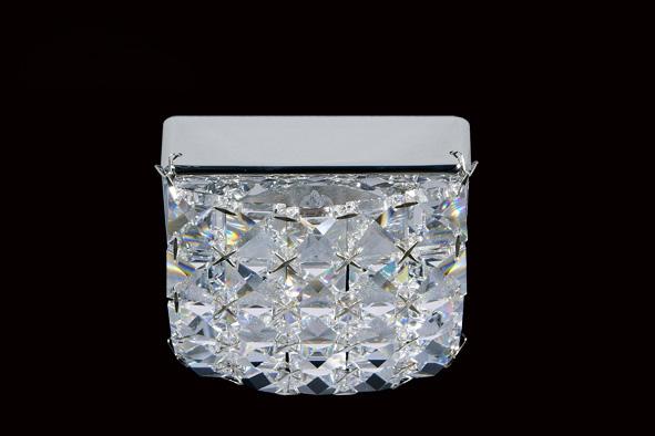 Точечный светильник 9.277.668 Ovaxнакладные<br>Светильник накладной галогенный Swarovski Кольгуга, хром (G9). Бренд - Ovax. материал плафона - Swarovski STRAASS. цвет плафона - прозрачный. тип цоколя - G9. тип лампы - галогеновая или LED. ширина/диаметр - 95. мощность - 40. количество ламп - 1.<br><br>популярные производители: Ovax<br>материал плафона: Swarovski STRAASS<br>цвет плафона: прозрачный<br>тип цоколя: G9<br>тип лампы: галогеновая или LED<br>ширина/диаметр: 95<br>максимальная мощность лампочки: 40<br>количество лампочек: 1