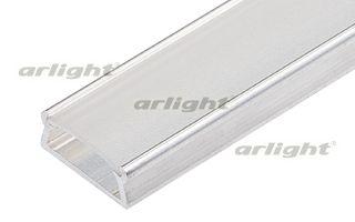 Неанодированный алюминиевый профиль, для светодиодной ленты, линейки. Может использоваться с матовым Arlight