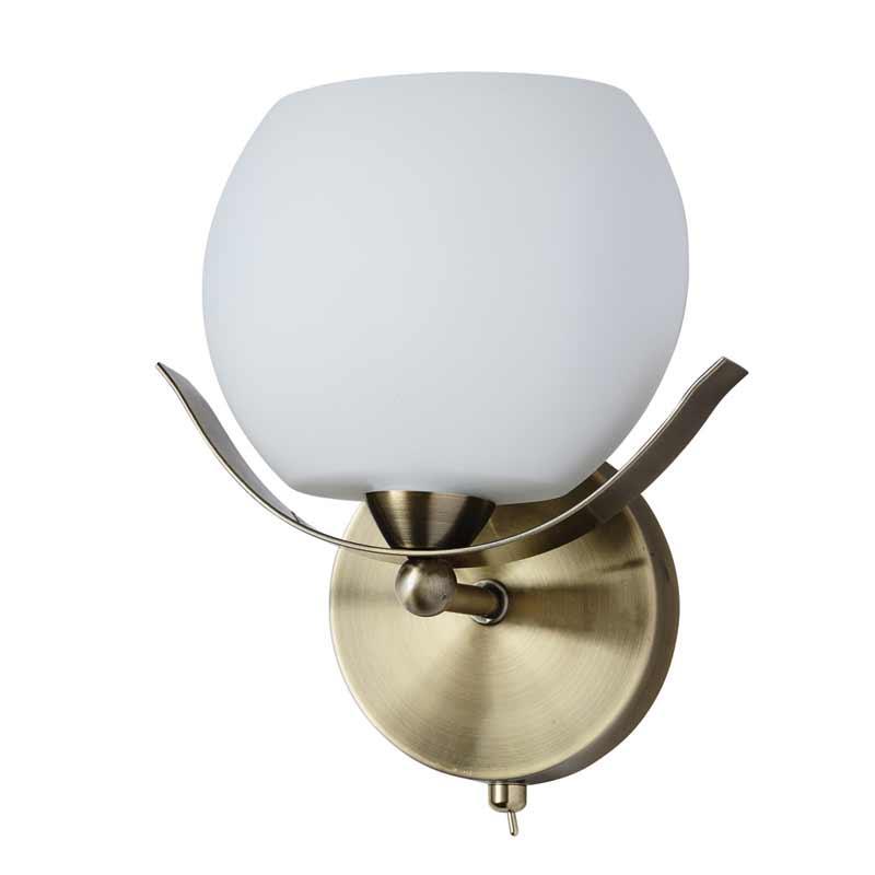 Бра 601/1A-SUNOldbronze IDLampНастенные и бра<br>Настенный. Бренд - IDLamp. материал плафона - стекло. цвет плафона - белый. тип цоколя - E14. тип лампы - накаливания или LED. ширина/диаметр - 120. мощность - 60. количество ламп - 1.<br><br>популярные производители: IDLamp<br>материал плафона: стекло<br>цвет плафона: белый<br>тип цоколя: E14<br>тип лампы: накаливания или LED<br>ширина/диаметр: 120<br>максимальная мощность лампочки: 60<br>количество лампочек: 1