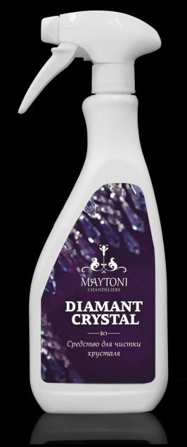 """Средство для чистки хрусталя """"Diamant Crystal"""", 500 мл Maytoni от Дивайн Лайт"""