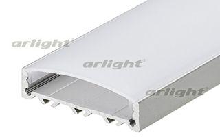 Анодированный профиль 2м широкий SlimLine Wide 10mm в комплекте с матовым экраном. Для нескольких ря Arlight