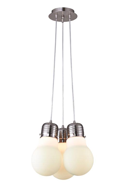 Подвесной  потолочный светильник SL299.053.03 ST-Luceподвесные<br>Светильник подвесной. Бренд - ST-Luce. материал плафона - стекло. цвет плафона - белый. тип цоколя - E27. тип лампы - накаливания или LED. ширина/диаметр - 320. мощность - 60. количество ламп - 3.<br><br>популярные производители: ST-Luce<br>материал плафона: стекло<br>цвет плафона: белый<br>тип цоколя: E27<br>тип лампы: накаливания или LED<br>ширина/диаметр: 320<br>максимальная мощность лампочки: 60<br>количество лампочек: 3