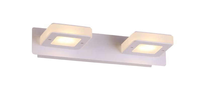 Бра SL583.101.02 ST-LuceНастенные и бра<br>SL583.101.02. Бренд - ST-Luce. материал плафона - пластик. цвет плафона - белый. тип лампы - LED. ширина/диаметр - 300. мощность - 3. количество ламп - 2. особенности - Дизайнерский настенный светильник.<br><br>популярные производители: ST-Luce<br>материал плафона: пластик<br>цвет плафона: белый<br>тип лампы: LED<br>ширина/диаметр: 300<br>максимальная мощность лампочки: 3<br>количество лампочек: 2<br>особенности: Дизайнерский настенный светильник