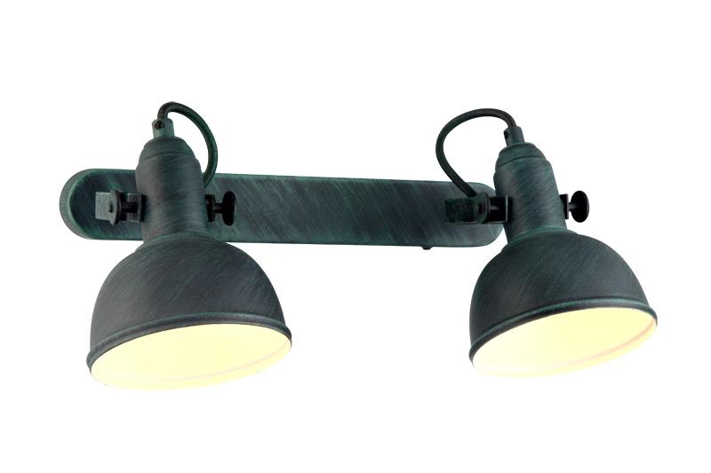 спот A5213AP-2BG ARTE LampСпоты<br>A5213AP-2BG. Бренд - ARTE Lamp. материал плафона - металл. цвет плафона - зеленый. тип цоколя - E14. тип лампы - накаливания или LED. ширина/диаметр - 110. мощность - 40. количество ламп - 2.<br><br>популярные производители: ARTE Lamp<br>материал плафона: металл<br>цвет плафона: зеленый<br>тип цоколя: E14<br>тип лампы: накаливания или LED<br>ширина/диаметр: 110<br>максимальная мощность лампочки: 40<br>количество лампочек: 2